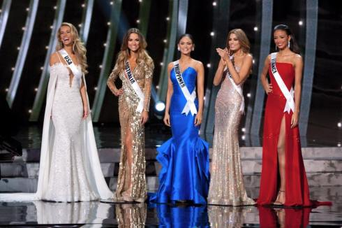 Miss Universe 2015 Top Five-01