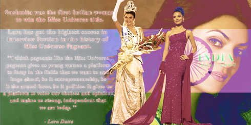 India Miss Universe