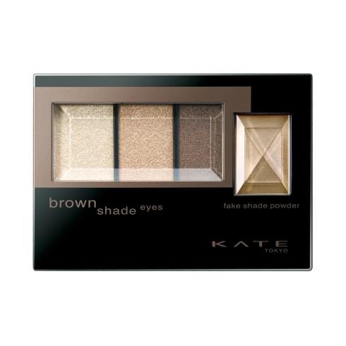 KATE凱婷3D棕影立體眼影盒 (Brown Shade Eyes)
