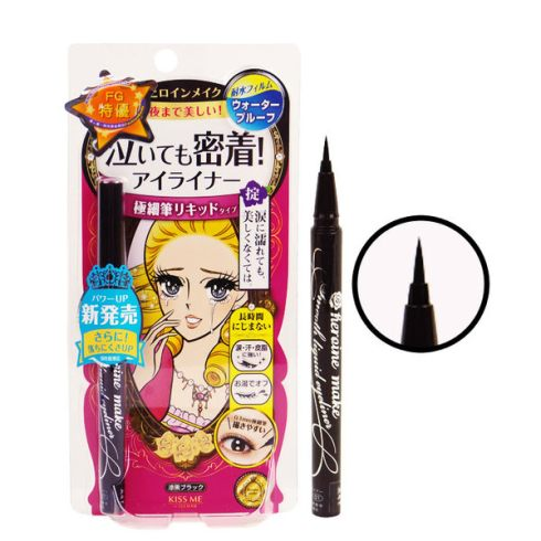 Kiss Me奇士美零阻力絲滑濃黑眼線液筆