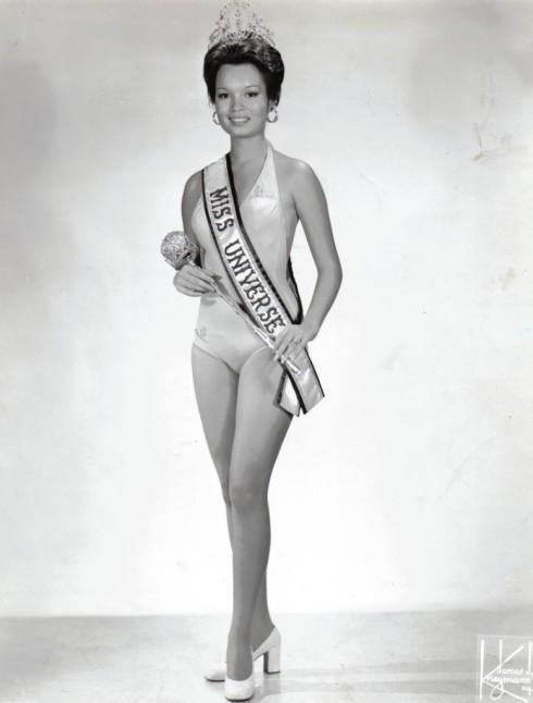 Miss Universe 1973 Maria Margarita Roxas Moran of the Philippines