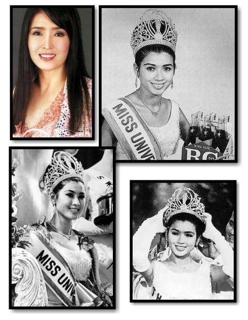 Miss Universe 1965 Apasra Hongsakula of Thailand
