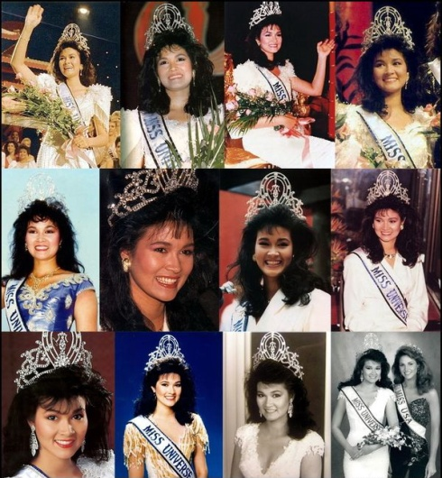 Miss Universe 1988 Porntip Nakhirunkanok, of Thailand