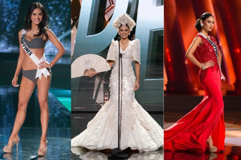 Miss Universe 2015 Pia Alonzo Wurtzbach of the Philippines