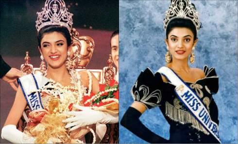 Miss Universe 1994 Sushmita Sen of India