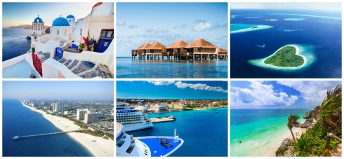 Top 10 Honeymoon Destinations in the World  全世界十大蜜月勝地